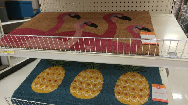 Motif Doormats (Available at Target)