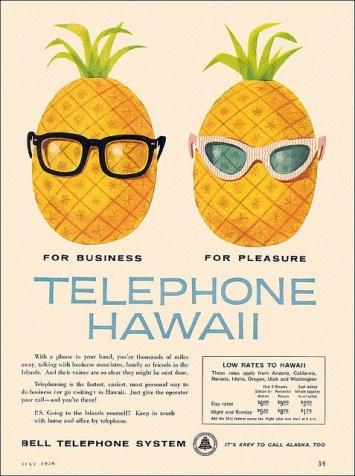 pineapple advertisement
