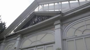 The Duke Gardens Insignia still stands