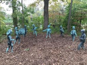 The troubadours of the meditation garden