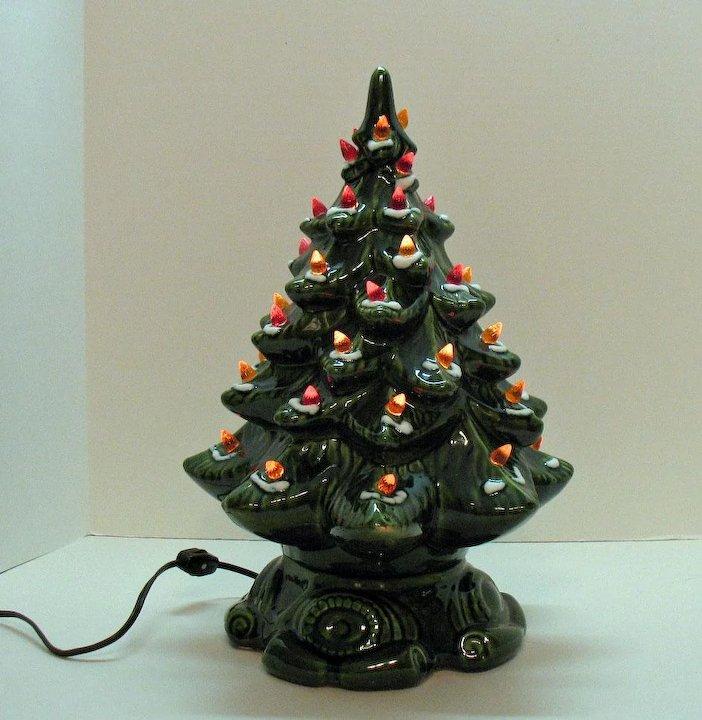 The Ceramic Christmas Tree Craze The Retro Revival